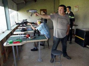 Les tireurs du club de tir de Cruas